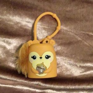 Other - light up squirrel b and bw hand sanitizer holder